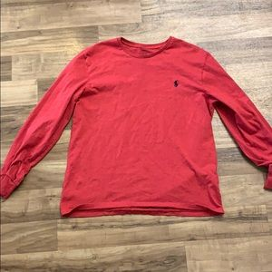 Large polo Ralph Lauren t shirt long sleeve